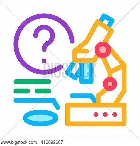 Laboratory Researcher Color Icon Vector. Laboratory Researcher Sign. Isolated Symbol Illustration