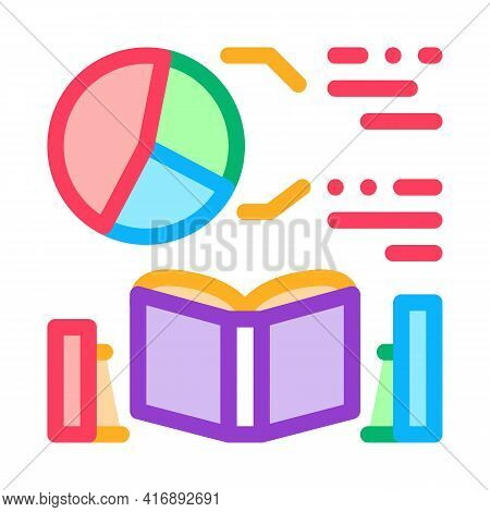 Mathematics Researcher Color Icon Vector. Mathematics Researcher Sign. Isolated Symbol Illustration