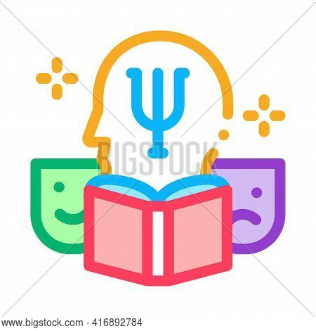 Psychology Researcher Color Icon Vector. Psychology Researcher Sign. Isolated Symbol Illustration