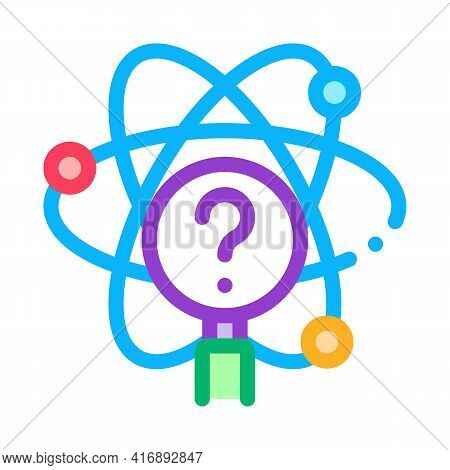 Science Researcher Color Icon Vector. Science Researcher Sign. Isolated Symbol Illustration
