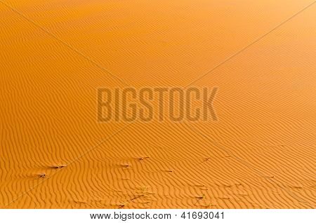 Red desert of Namibia