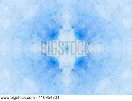 Beautiful Abstract Fractal Patterns And Shapes. Infinite Universe. Mysterious Psychedelic Relaxation