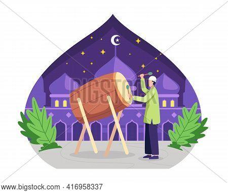Celebrating Eid Al-fitr Concept