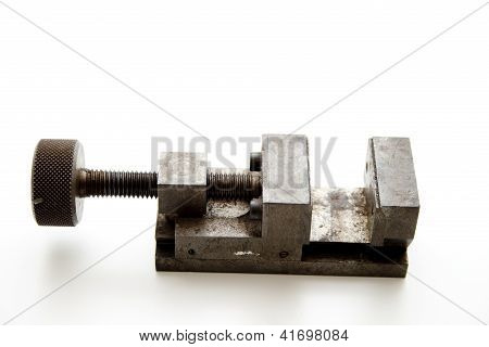 Old table screw falter