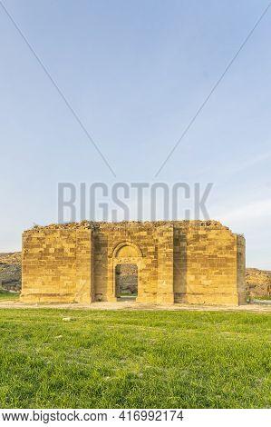 January 2021 Nicosia District, Cyprus. Agios Sozomenos An Abandoned Village In Nicosia District, Cyp