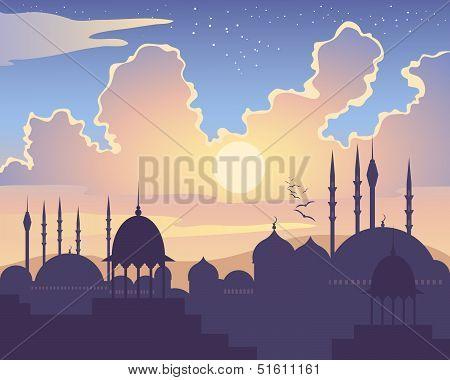Islamic Sunset