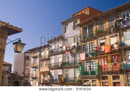 Old Dilapidated Houses