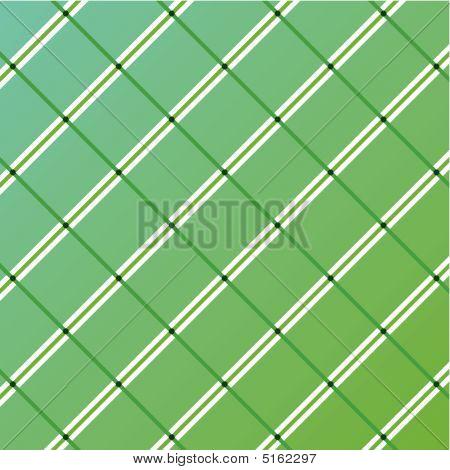 Green Stripes Vector Pattern