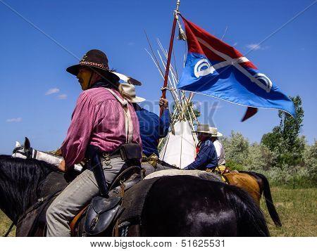 7th US Cavalry Flag
