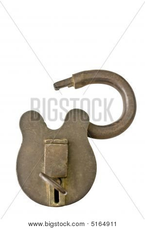 Open Brass Lock