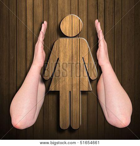 Illustration Woman Figure