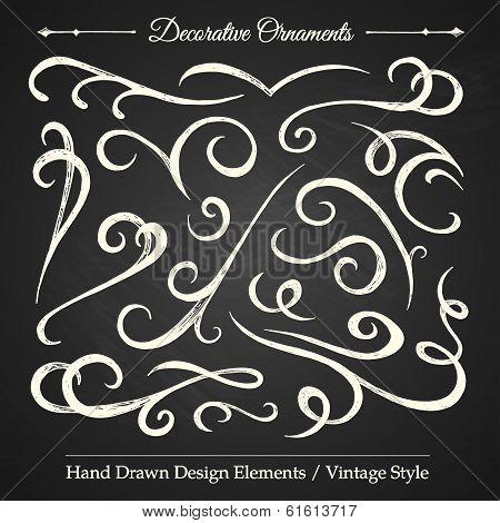Decorative Ornaments - Chalkboard 4