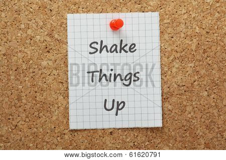 Shake Things Up