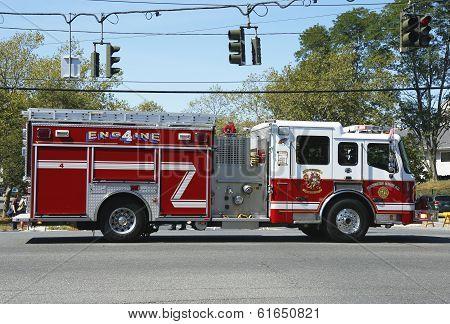 Huntington Manor Fire Department fire truck
