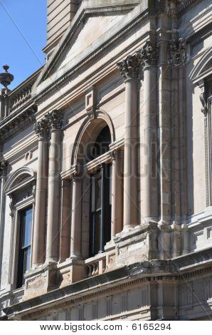 Ballarat Town Hall Detail