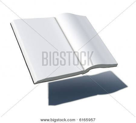 Abstract Blank book