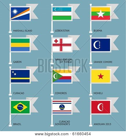 Flags set four-11