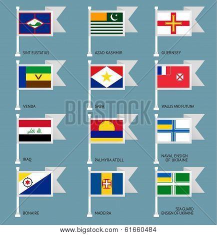 Flags set four-17