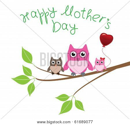 Owl Love Mom