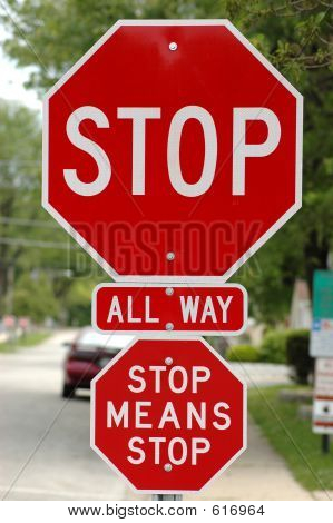 Stop Or Else!