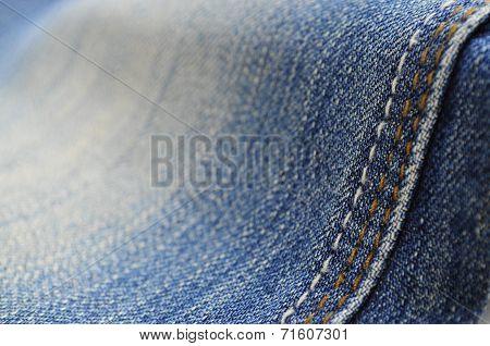 Jeans pants close-up