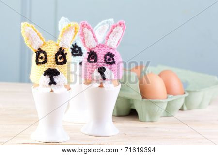 Crochet Bunnies For Easter