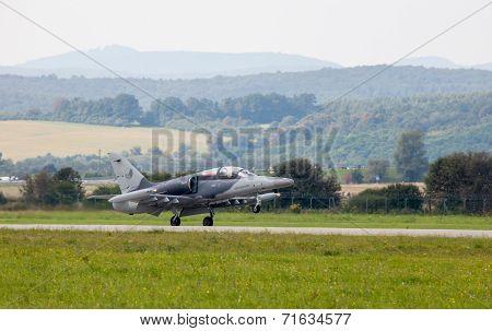 Airplane L-159 Alca At Airshow