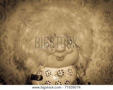 vintage yesteryear old doll