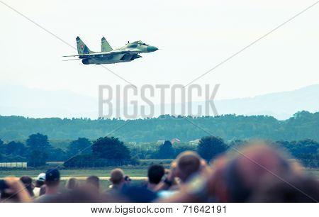 Airplane Mig-29 Fulcrum