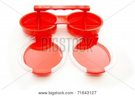 Plastic Hamburger Press