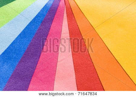 Ten Colorful Cloth