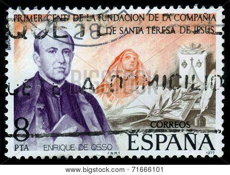 Portrait Of Enrique De Osso Y Cervello