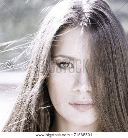 Beauty Portrait High Key
