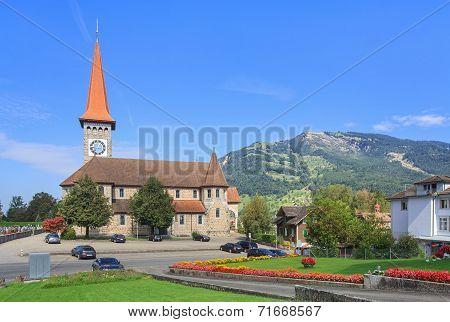 Catholic Church In Goldau