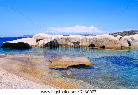 Granite Coast near Sardinia
