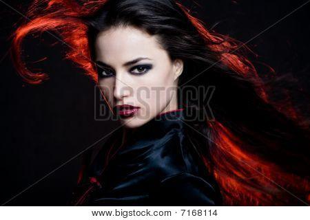 Feuer-Haar
