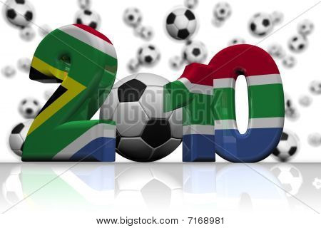South Africa Flag 2010