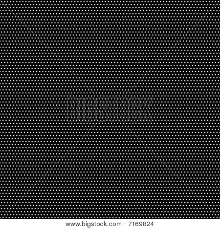 Tiny white polka dot pattern on a black background. 12x12 size for digital scrapbooking. poster