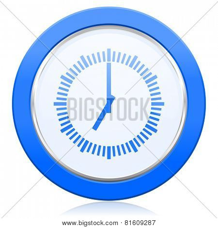 time icon clock sign