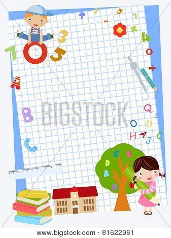 School Children Background
