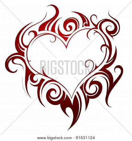 Heart Shape Tattoo