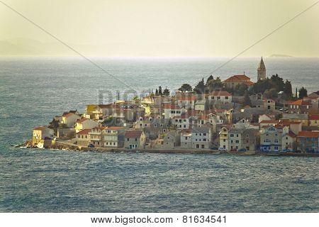 Adriatic Town Of Primosten On Sea