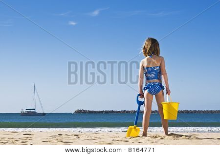 Ready To Build A Sandcastle