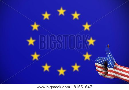 Positive Attitude Of United States For The European Union