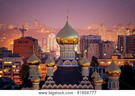 Pokrovsky monastery in Kyiv