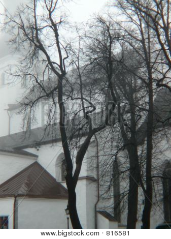 Church on a morning