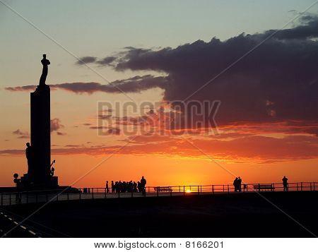 Ostende Sunset