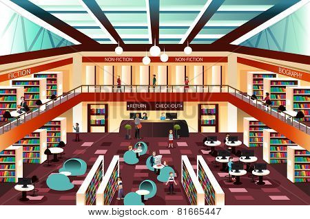 Modern Looking Library
