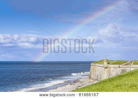 Rainbow Over Fort George, Scotland