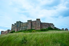 Bamburgh Castle - From The East